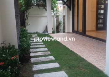 Villa for rent on Hai Ba Trung District 3 200 sqm of area location near Le Van Tam Park