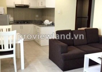 Serviced apartment in International Plaza for rent in District 1