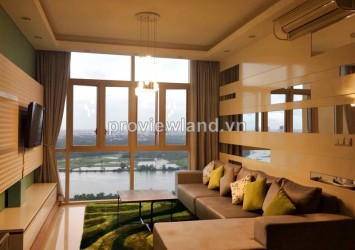 The Vista apartment for rent 2 bedrooms 101 sqm fully furnished overlooking to Saigon river and Thao Dien villas
