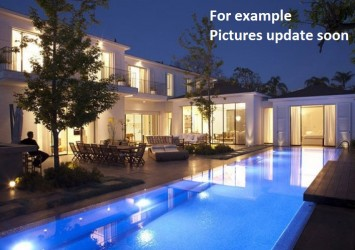Villa for sale on Xuan Thuy 660 sqm 5 bedrooms garden pool and garage prime location car alley