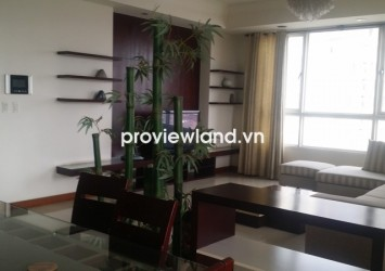 The Manor HCMC apartment for rent 3 bedrooms on high floor 165 sqm balcony with river view
