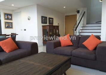 Penthouse The Estella for rent 225 sqm 3 bedrooms premium furniture with pool view