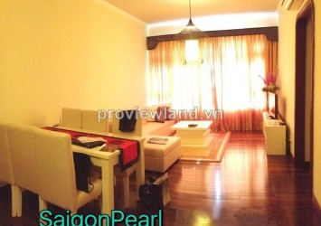Saigon Pearl Ruby Tower for rent 100 sqm 3 bedrooms with villas view on high floor