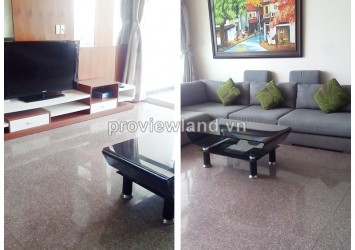 Hoang Anh Riverview for rent 4 bedrooms on high floor luxury furnished