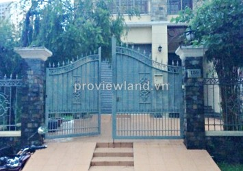 Villa for rent in Thao Dien 4 bedrooms 320 sqm have garden