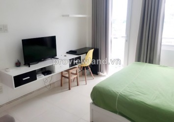 Serviced apartment for rent on Nguyen Ngoc Phuong 1 bedroom with simple design very comfortable