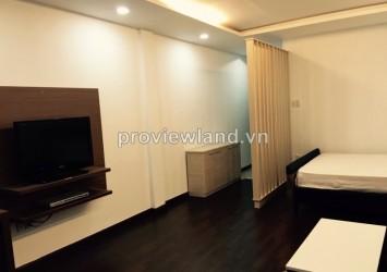 Serviced apartment for rent on Nguyen Cuu Van Str luxury interior