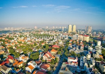 Land for sale in District 2 on Nguyen Van Huong Street Thao Dien Ward