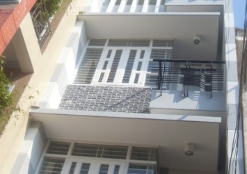 New facade house for rent on Tran Khanh Du District 1 225sqm 3 floors fully furnished perfect area