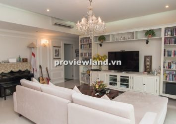 Apartment for rent in The Estella 171 sqm 3 bedrooms big balcony high end furniture
