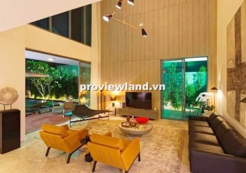 Compound Villa Saigon riverside 6 bedrooms big garden and pool with Saigon river view