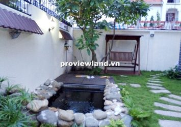 Villa for sale in Thao Dien 312 sqm 2 floors 5 bedrooms big garden near river prime location