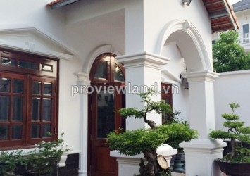 Thao Dien villa for sale on Vo Truong Toan 348sqm big yard secured and quiet location