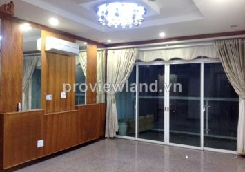 Hoang Anh Riverview for rent 162 sqm 4 bedrooms full furniture on high floor