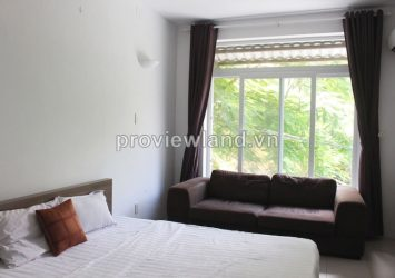 Serviced apartment for rent in Thao Dien, on Nguyen Van Huong Street 40 sqm