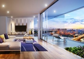 Penthouse Masteri Thao Dien apartment project in District 2
