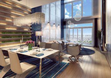Duplex Masteri Thao Dien apartment project in District 2