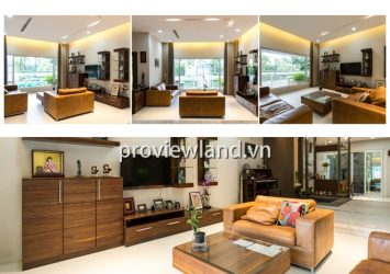 Saigon Pearl Villa for sale 147 sqm 5 bedrooms river view has large garden