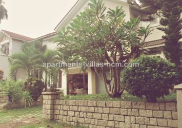 Villa for rent in District 9 has 200 sqm 4 bedrooms full interior
