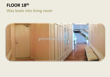 Penthouse for sale in Cantavil Hoan Cau 5 bedrooms luxury furniture