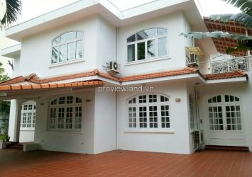 Villa for rent in Xuan Thuy Str Dist 2 with 4 bedrooms 500 sqm