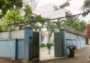 Villa for rent in Thao Dien has nice pool 2 floor 5 bedrooms