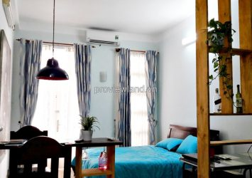 Serviced apartment for rent in District 1, Nguyen Dinh Chieu Str 40 sqm have balcony