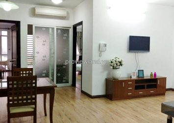 Copac Square apartment for rent in District 4 has 90 sqm 2 bedrooms on high floor