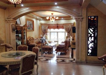 Villa for sale in Saigon Pearl 500 sqm using area 5 bedrooms includes nice and luxury furniture