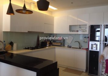 Thao Dien Pearl apartment for rent 132sqm 3BRs fully furnished with balcony