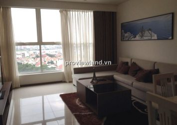 Luxury apartment for rent in Thao Dien Pearl 134sqm 3BRs fully furnished with river view