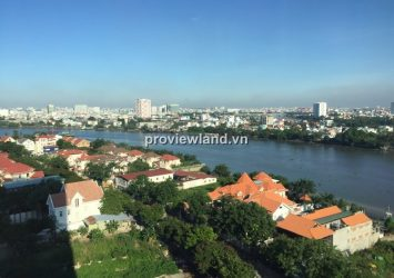 Xi Riverview apartment for rent high floor 201sqm 3BRs fully furnished with river view
