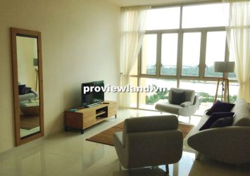 Selling The Vista apartment high floor 104 sqm 2 bedrooms modern furniture with city view