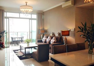 The Vista apartment for rent at T4 tower 3 bedrooms luxury interior modern design