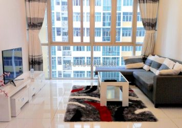 Apartment for rent in The Vista 2 bedrooms on high floor