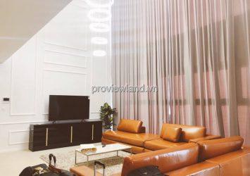 Duplex apartment for rent at Diamond Island using area 320m2 4BRs 2 floors
