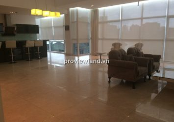 Penthouse apartment for rent in An Phu Riverview 250sqm 4BRs fully furnished