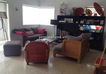 Duplex apartment for rent in River Garden 350sqm 4BRs semi furnished with nice view