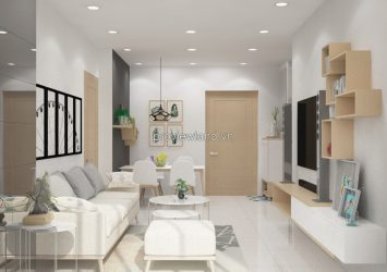 Masteri Thao Dien apartment for sale 2 brs at T2
