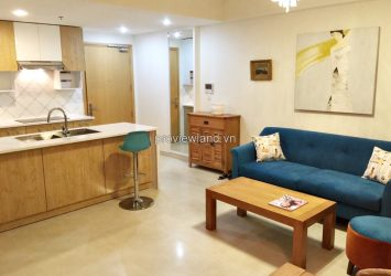 Masteri Thao Dien for rent 2 bedrooms on high floor at T3 Tower