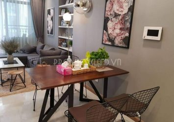 Masteri Thao Dien apartment for rent 65sqm 2BRs fully equiped modern interior