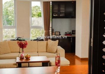 Serviced apartment for rent in District 1 on Nguyen Du 84 sqm Western style