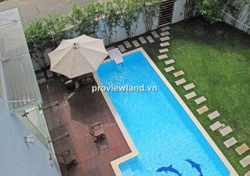 Villa for sale in Thao Dien 600 sqm 6 bedrooms private pool