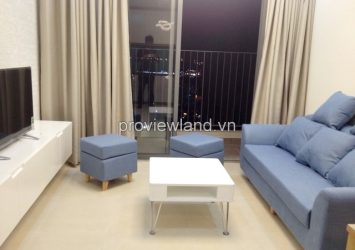 Masteri Thao Dien apartment for rent 2 bedrooms 59 sqm