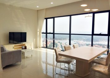 Ascent apartment for rent in District 2 100m2 3 bedrooms