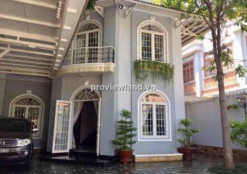 Villa for rent in An Phu, Dang Tien Dong street 310.5 sqm