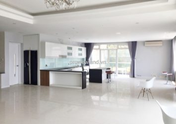 Duplex Saigon Pearl for rent 3 bedrooms river view