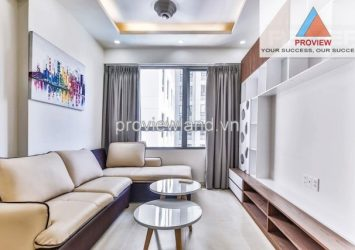 Masteri Thao Dien for rent 2 bedrooms 64 sqm pool view