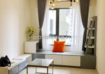 Masteri Thao Dien for rent 1 bedroom 45 sqm on high floor