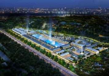 Lakeview City – a project of the paralleled front line with Long Thanh – Dau Giay Highway.